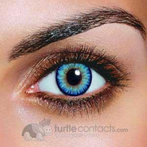 dual color sky blue contacts (90 day) \u2013 turtle contacts Sky Blue Contacts